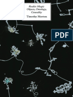 Timothy Morton Objects, ontology, causality