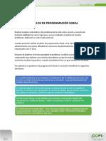 Lectura 2. Modelos de Programación Lineal