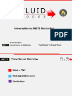 Introduction to ANSYS Mechanical
