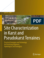 Richard C. Benson, Lynn B. Yuhr Auth. Site Characterization in Karst and Pseudokarst Terraines Practical Strategies and Technology for Practicing Engineers, Hydrologists and Geologists