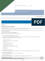 Desarrollo de Proveedores - Software ISO