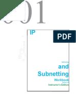 Ip Addressing and Subnetting Workbook - Instructors Version v2_0