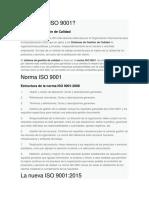 Qué es la ISO 9001
