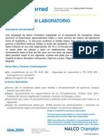 2016 02-05-Lessons Learned Campinas BRASIL Espanol