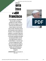 Igreja Católica - A Guerra Contra o Papa Francisco - Público Pt