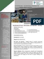 CGSC CNC Setter Cum Operator Turning
