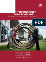 MIT Entrepreneurship Online Bootcamp 24 Nov 17
