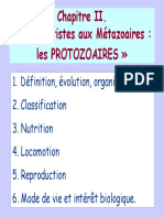 EOA 2005-Chapitre II Protistes Protozoair