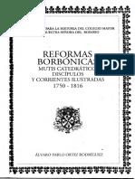 Reformas Borbónicas, Mutis Académico - Alvaro Ortíz