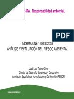 UNE 150008-2008 Presentación