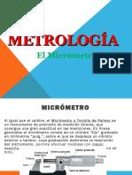 Uso del Micrometro