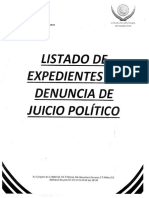 juicios políticos