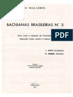 Bachianas n5