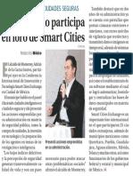 02-03-18 Alcalde regio participa en foro de Smart Cities