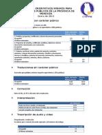 Honorarios Orientativos 2013 - Mendoza