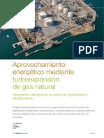 Aprovechamiento Energetico Mediante Turboexpansion de Gn
