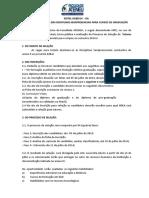 Edital Para Tutor e Professor de Disciplinas Semipresenciais