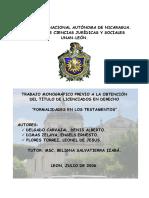 Testamento Otorgado en Pais Extrangero. PDF