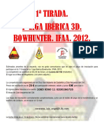 Circular Liga Bow Hunter t 1