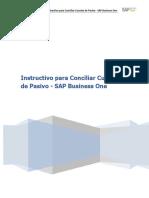 Instructivo Para Conciliar Cuentas de Pasivo en SAP Business One_AG