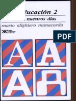 Manacorda MA Historia de La Educacion 2 Del 1500 a La Actualidad