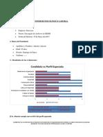 Informe Psicolaboral Encargado RRHH