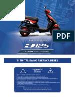 Manual Italika D125