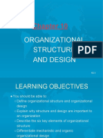 Organizational Structure & Design