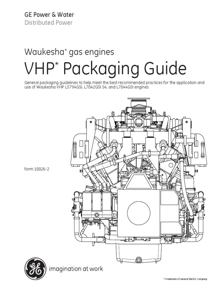 Waukesha Vhp Service Manual