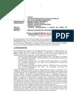 Revocacion Miguel Pizarrozo Estafa Estelionato Abuso de Firma