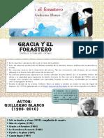Gracia y El Forastero Ppt