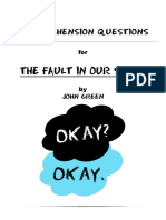The Fault in Our Star Questions