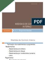 M. C. I. Disponibilidades (2)