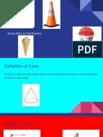 cones presentation