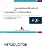 Towards Improving Modeling and Simulation of Clinical Pathways