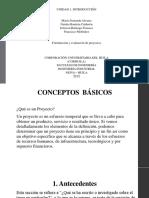 Exposicion de Formulacion de Proyectos