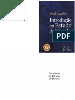Introdução Ao Estudo Do Direito - Paulo Nader -2015