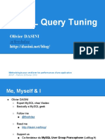Mysql Query Tuning