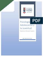 Documento Psicología Del Adolescente y La Juventud