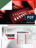 Catalogo NOVIK