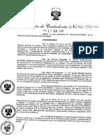 RC+066-2018-CG modifican la Directiva N° 017-2016-CG DPROCAL Control Simultáneo
