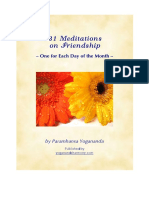 31 Friendship Meditations