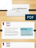 1_Review of CDP Process