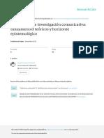 Carrasco CamposA TeoriaCriticaeinvestigacioncomunicativa.fundamentosteoricosyhorizonteepistemologico