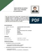 CV. Ingeniero de Seguridad