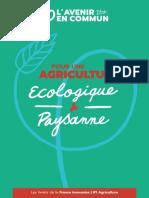 Livret de La France Insoumise Agriculture WebOK