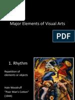 Major Elements of Visual Arts