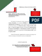 Ejemplo de Carta de Aceptacion Empresa