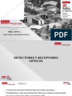 Fibra Optica Receptores y Detectores Opticos