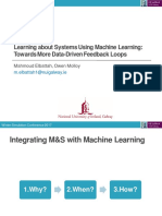 Learning about Systems Using Machine Learning:Towards More Data-Driven Feedback Loops
